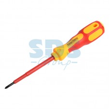 REXANT 12-4715 Отвертка крестовая «Электрика» PH 0х75 мм