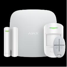 Ajax StarterKit (white) Комплект беспроводной смарт-сигнализации