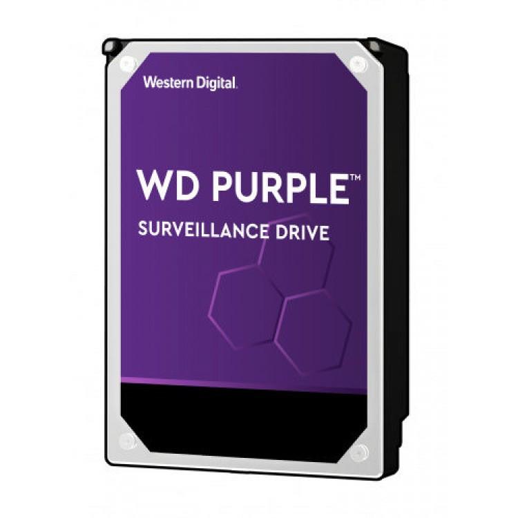 Жесткий диск WD Purple WD140PURZ, 14Тб, HDD, SATA III, 3.5