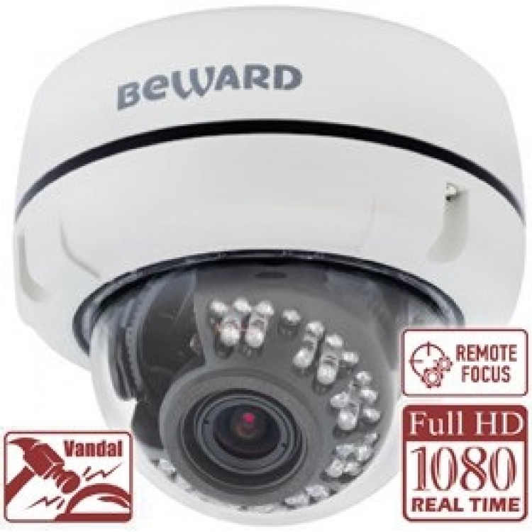 BEWARD B2520DVZ Купольная IP камера