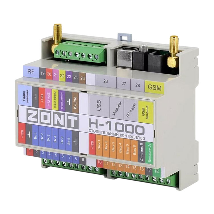 Отопительный контроллер ZONT H-1000