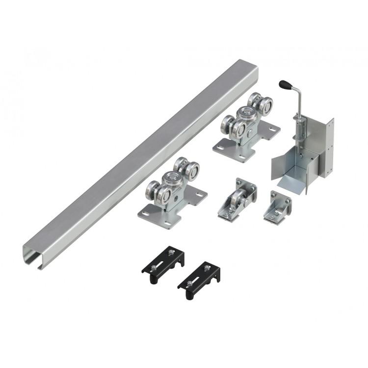 DoorHan DHS20460 Система роликов и направляющих для балки х/к 60х55х3 L=6000мм