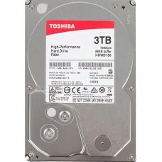 Жесткий диск HDD Toshiba SATA3 3Tb P300 HDWD130UZSVA