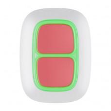 Ajax DoubleButton Тревожная кнопка (белый)