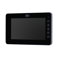 RVi-VD7-21M (black) Видеодомофон