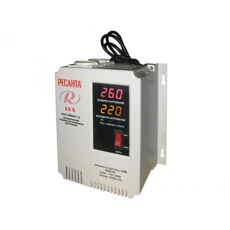 Ресанта Lux АСН-3 000Н/1-Ц Стабилизатор