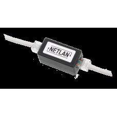 NETLAN EC-UCB-55-UD2-BK-10 Кабельный соединитель RJ45-RJ45 (8P8C)