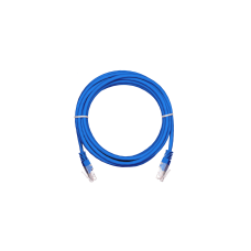 NETLAN EC-PC4UD55B-BC-PVC-010-BL Коммутационный шнур U/UTP 4 пары, Кат.5е (Класс D)
