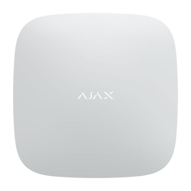 Ajax Hub 2 white Интеллектуальный центр системы безопасности
