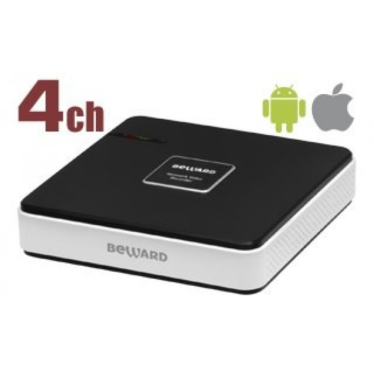 BEWARD BK0104S-P4 IP видеорегистратор